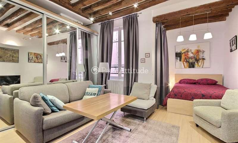 Rent Apartment Alcove Studio 26m² rue d Argout, 2 Paris