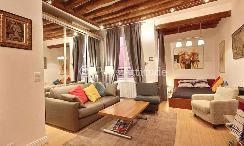 Rent Apartment Alcove Studio 26m² rue d Argout, 75002 Paris