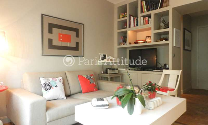 Rent Apartment 1 Bedroom 40m² rue Anatole France, 92300 Levallois Perret