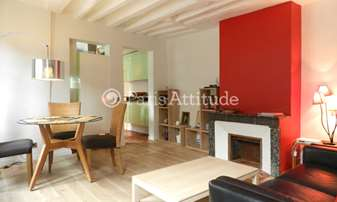 Rent Duplex 2 Bedrooms 60m² rue Jacob, 6 Paris