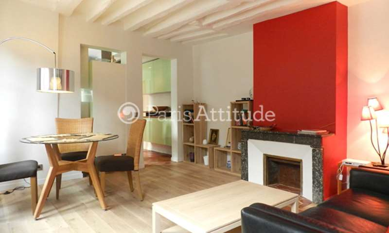 Rent Duplex 2 Bedrooms 60m² rue Jacob, 6 Paris