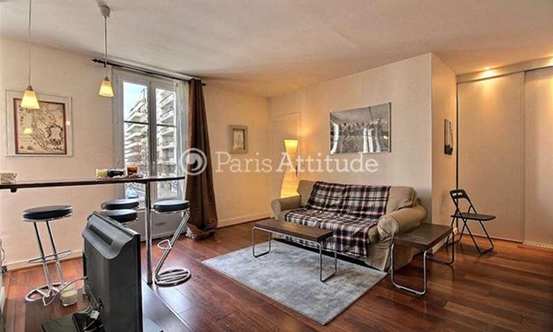 Rent Apartment 1 Bedroom 38m² rue des Peupliers, 92100 Boulogne Billancourt