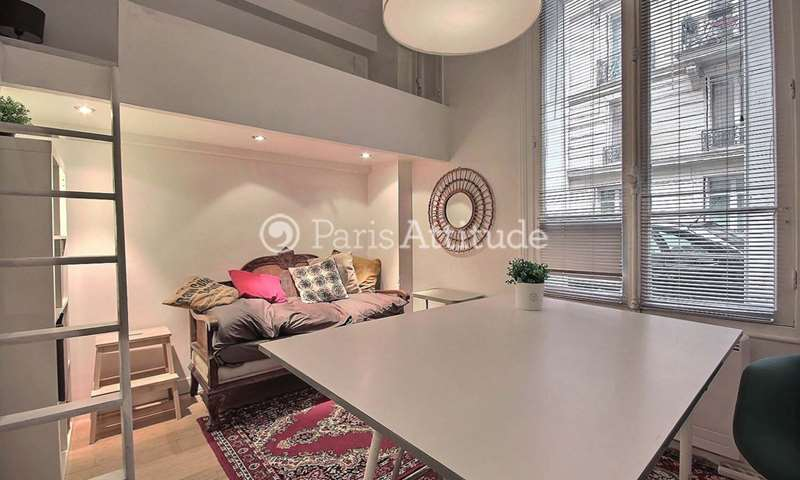 Location Appartement Studio 20m² rue de Thann, 17 Paris