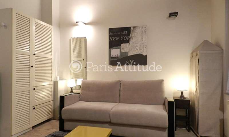 Rent Apartment Studio 15m² Quai des Grands Augustins, 75006 Paris