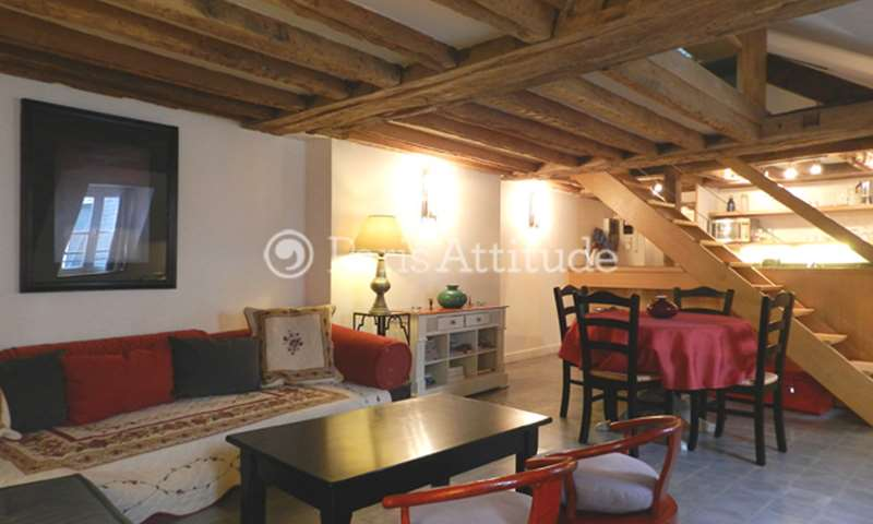 Rent Apartment 1 Bedroom 37m² rue Jacob, 6 Paris