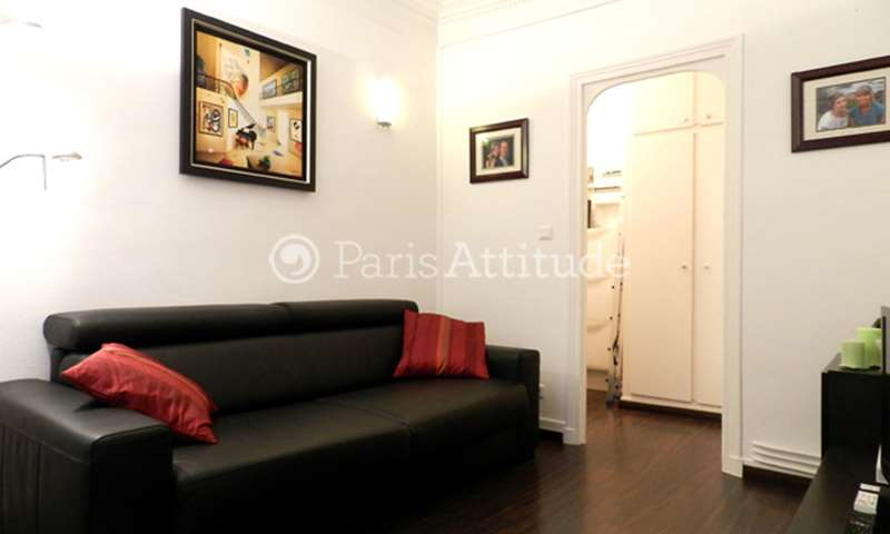 Rent Apartment 1 Bedroom 36m² rue de Chaillot, 75016 Paris