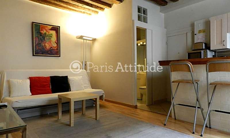 Location Appartement 1 Chambre 31m² rue Notre Dame de Nazareth, 3 Paris