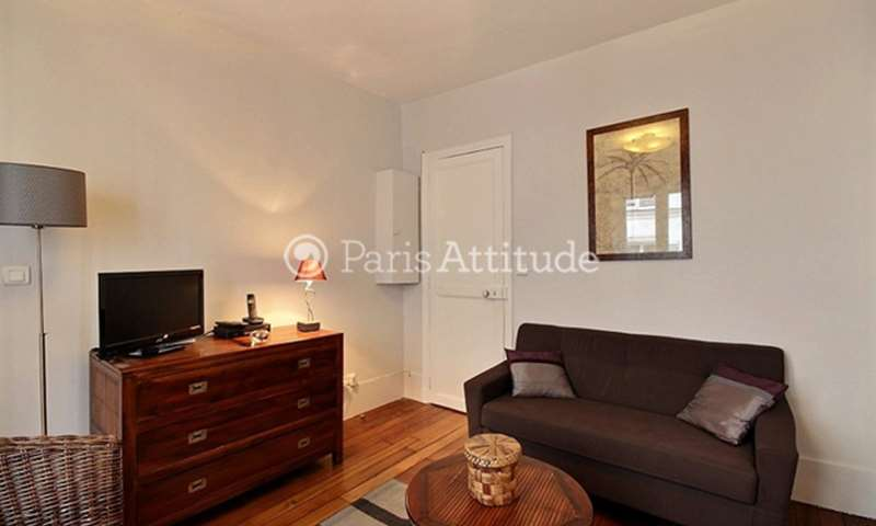 Rent Apartment 1 Bedroom 37m² rue Coustou, 75018 Paris