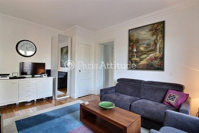 Rent Apartment 1 Bedroom 42m² rue Saint Didier, 75016 Paris