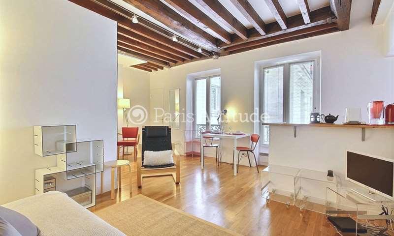 Rent Apartment Alcove Studio 30m² rue Sedaine, 11 Paris