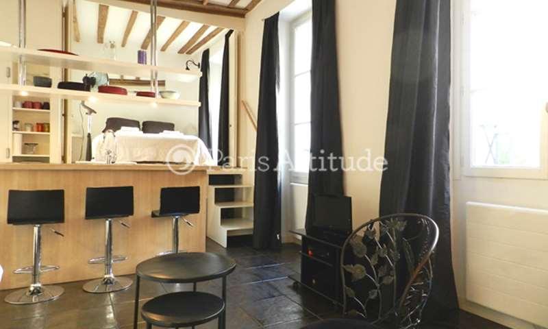 Rent Apartment 1 Bedroom 30m² rue de la Clef, 5 Paris