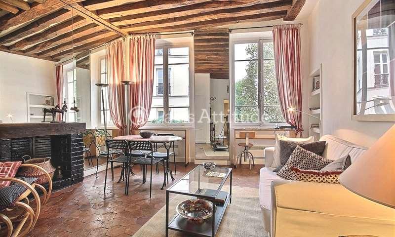 Rent Apartment 1 Bedroom 42m² rue des Grands Degres, 75005 Paris