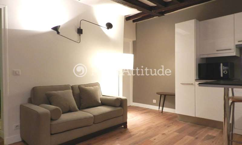 Rent Apartment 1 Bedroom 30m² Cours Béranger, 92100 Boulogne Billancourt