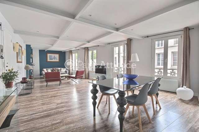 Louer Appartement meublé 2 Chambres 83m² rue La Vieuville, 75018 Paris