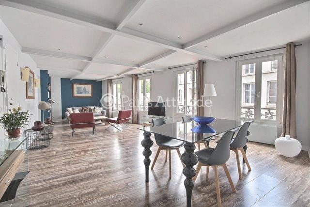 Aluguel Apartamento mobiliado 2 quartos 83m² rue La Vieuville, 75018 Paris