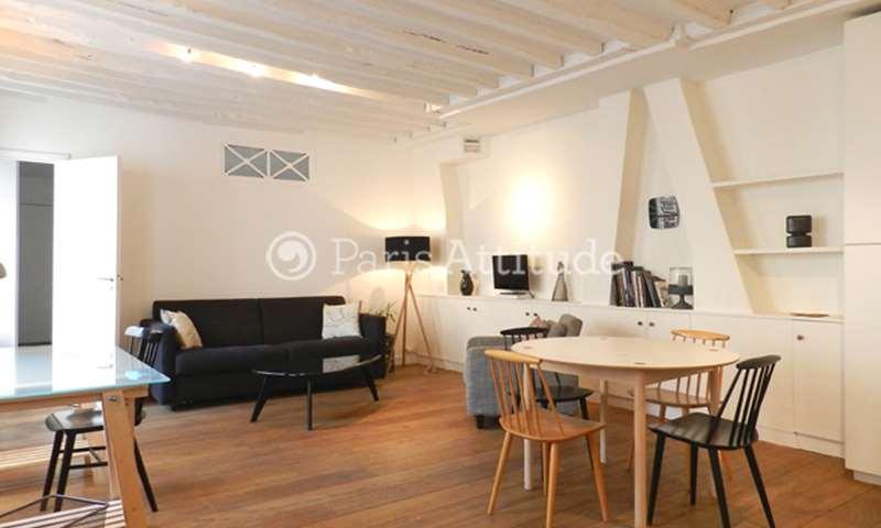 Rent Apartment 1 Bedroom 65m² rue de Seine, 75006 Paris