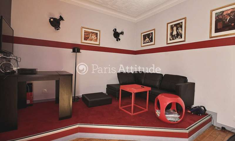 Rent Apartment 1 Bedroom 28m² rue Richard Lenoir, 11 Paris