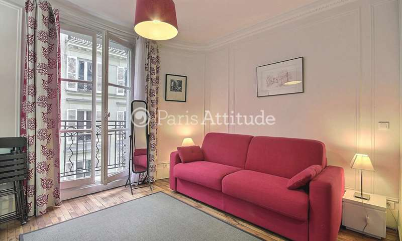 Rent Apartment Studio 20m² rue Troyon, 75017 Paris
