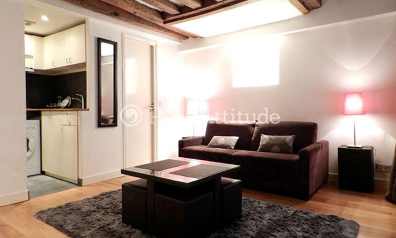 Rent Apartment Studio 24m² rue Saint Sauveur, 2 Paris