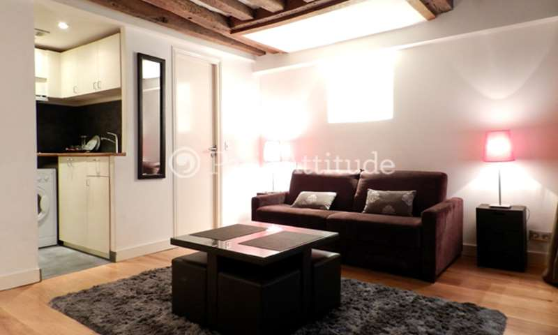 Location Appartement Studio 24m² rue Saint Sauveur, 75002 Paris