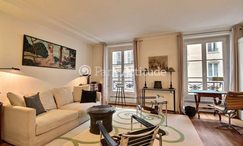 Rent Apartment 1 Bedroom 44m² rue Vaneau, 75007 Paris