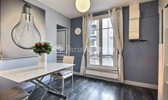 Rent Apartment 1 Bedroom 28m² rue du Chemin Vert, 11 Paris