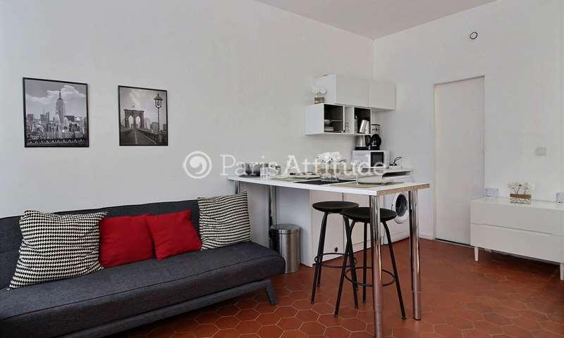 Rent Apartment Alcove Studio 24m² rue Saint Blaise, 20 Paris