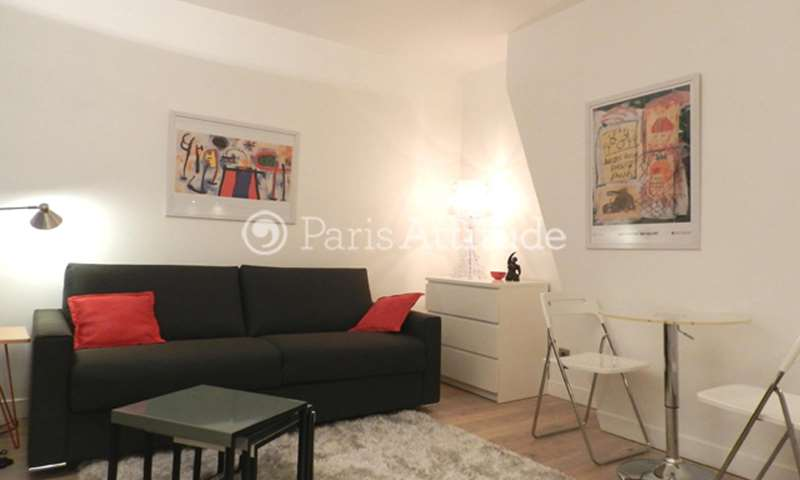 Rent Apartment Studio 18m² rue des Petits Carreaux, 75002 Paris