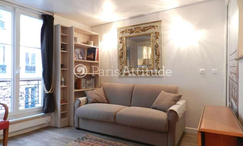 Rent Apartment Studio 18m² rue des Martyrs, 75018 Paris