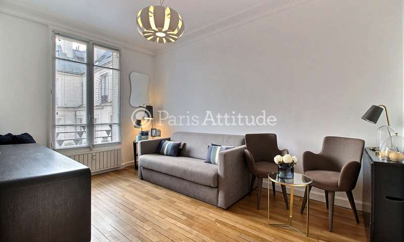 Rent Apartment Studio 30m² avenue Hoche, 8 Paris