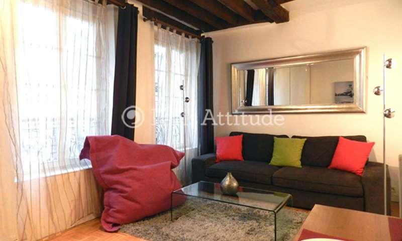 Location Appartement 1 Chambre 37m² rue Tiquetonne, 75002 Paris