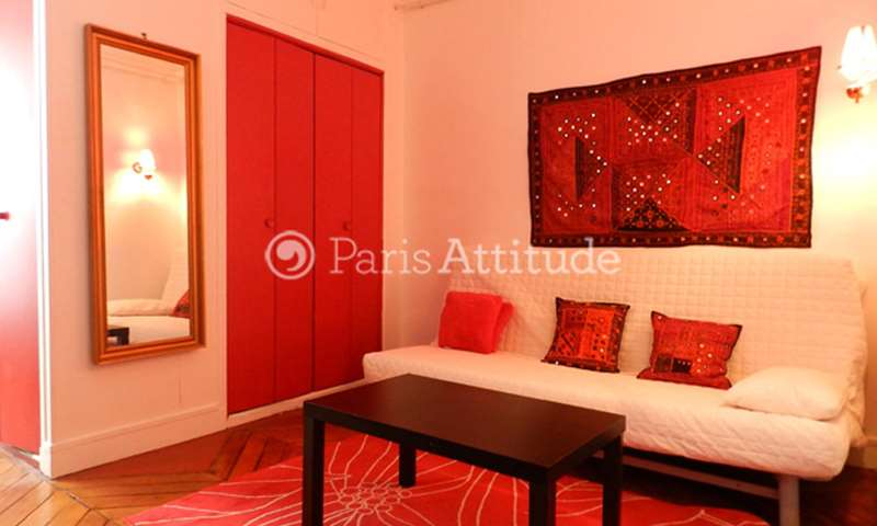 Rent Apartment Studio 21m² rue de Moscou, 75008 Paris