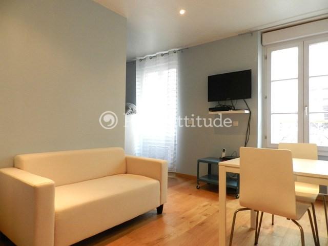 Location Appartement Alcove Studio 25m² Rue Sambre et Meuse, 75010 Paris