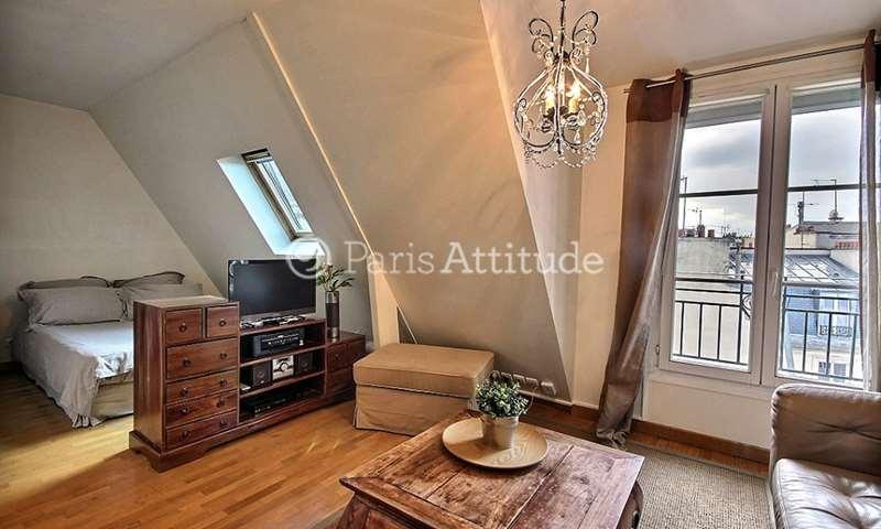 Rent Apartment Studio 23m² rue Gounod, 17 Paris