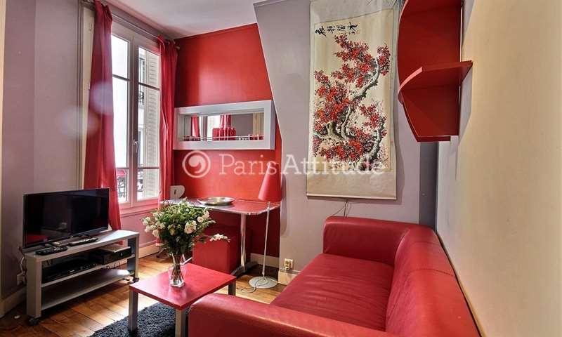 Rent Apartment 1 Bedroom 22m² rue de l Amiral Roussin, 15 Paris