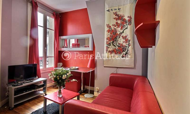 Rent Apartment 1 Bedroom 22m² rue de l Amiral Roussin, 15 Paris