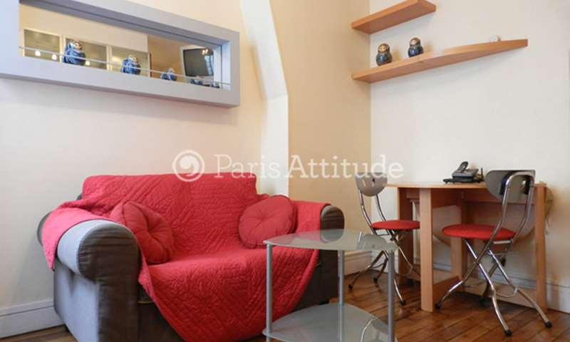Rent Apartment 1 Bedroom 22m² rue de l Amiral Roussin, 75015 Paris
