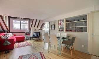 Rent Apartment 1 Bedroom 38m² rue Jean Jacques Rousseau, 1 Paris