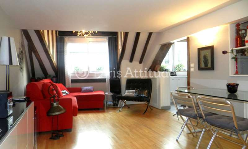 Location Appartement 1 Chambre 38m² rue Jean Jacques Rousseau, 1 Paris