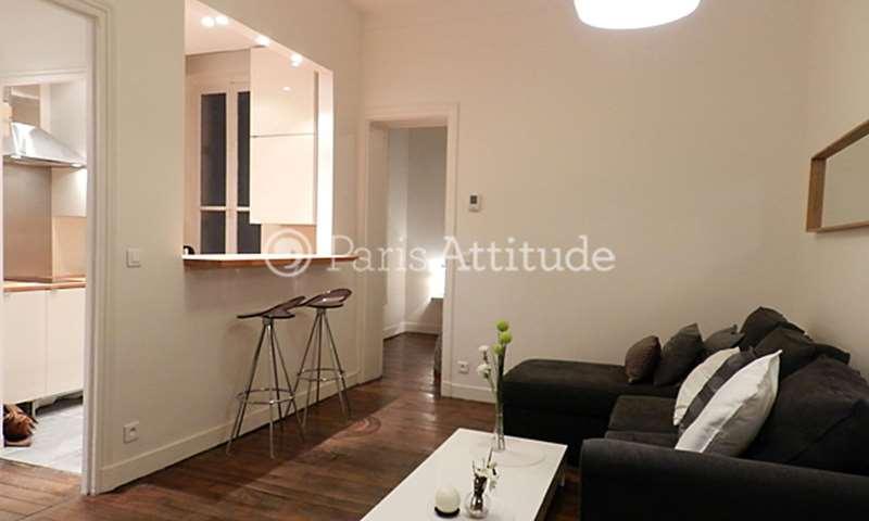 Rent Apartment 1 Bedroom 32m² rue Clapeyron, 8 Paris