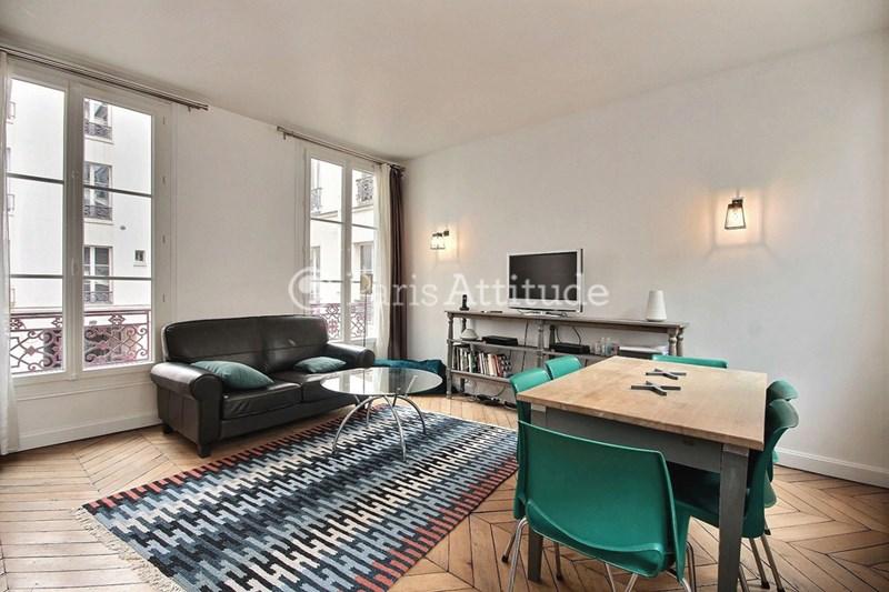 Location Appartement 2 Chambres 60m² cour des Petites Ecuries, 75010 Paris