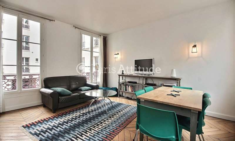 Rent Apartment 2 Bedrooms 60m² cour des Petites Ecuries, 75010 Paris