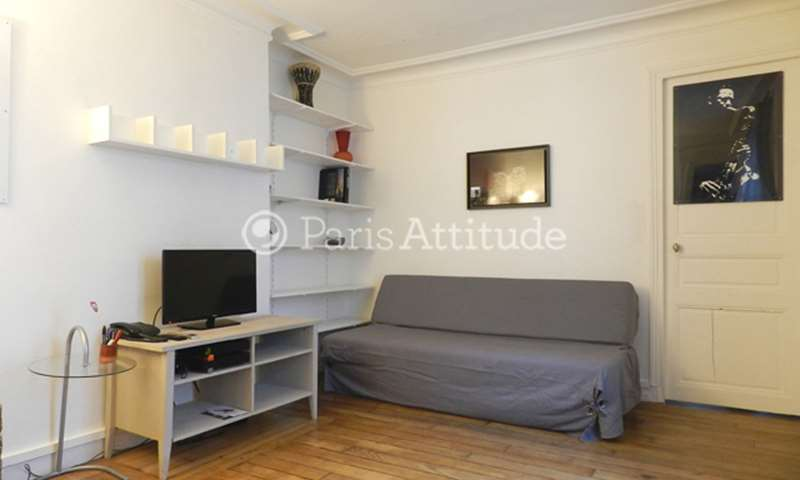 Rent Apartment 1 Bedroom 37m² rue Marcadet, 18 Paris