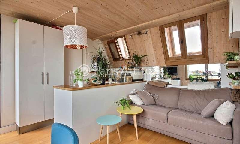Rent Apartment 1 Bedroom 26m² rue de Tolbiac, 13 Paris