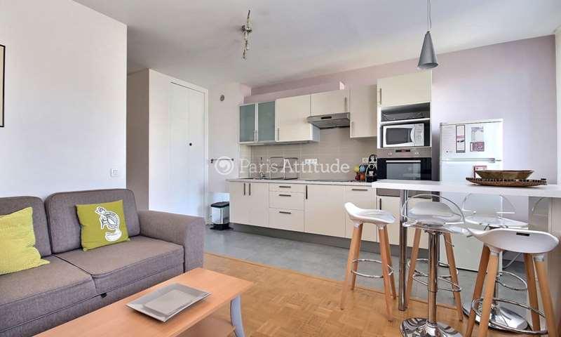 Rent Apartment 1 Bedroom 41m² rue des Favorites, 75015 Paris