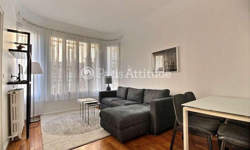 Rent Apartment 1 Bedroom 40m² avenue Bugeaud, 16 Paris
