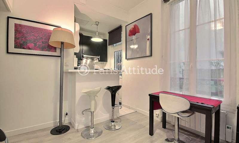 Aluguel Apartamento Quitinete 21m² rue Marcadet, 18 Paris
