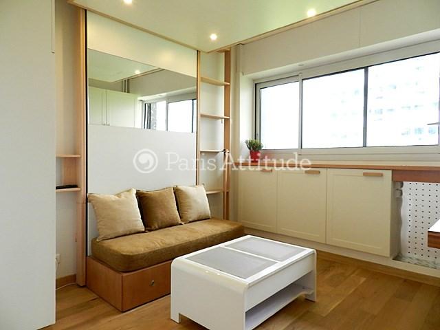 Location Appartement Studio 15m² avenue de Suffren, 75015 Paris