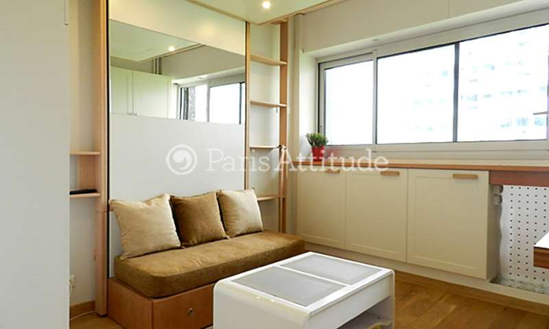 Location Appartement Studio 15m² avenue de Suffren, 15 Paris