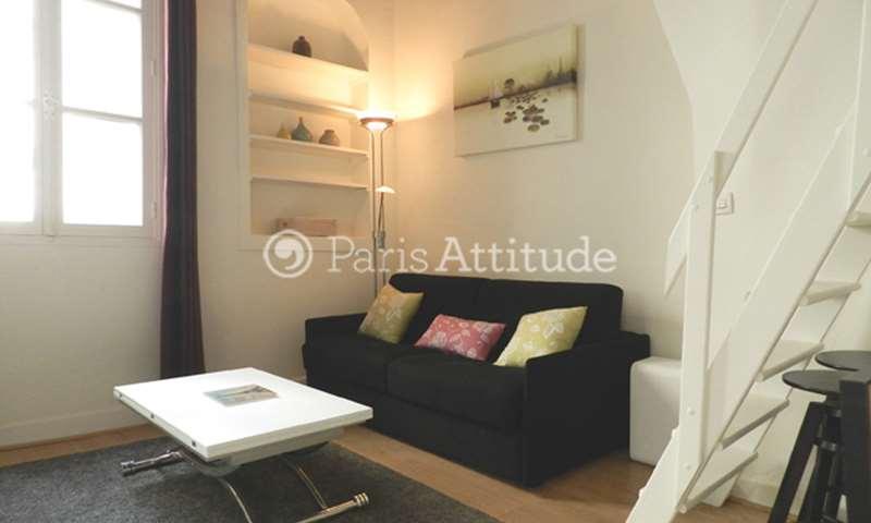 Rent Apartment Studio 21m² rue de l Hotel Colbert, 75005 Paris